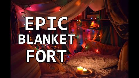 building  blanket fort youtube