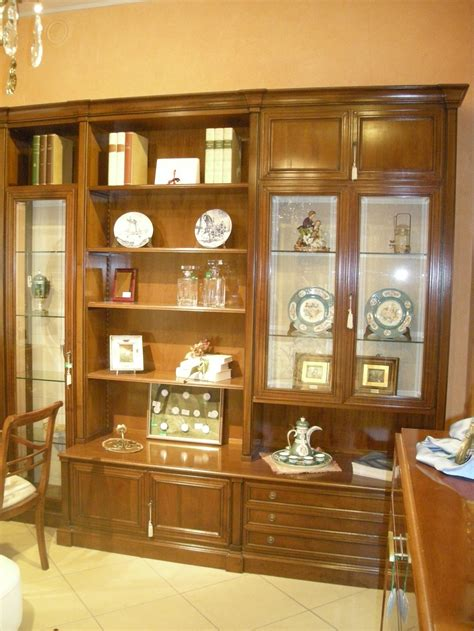 soggiorno legno massello parete attrezzata soggiorno in legno massello scontata