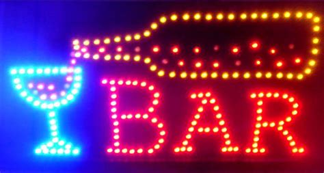 Bar Sign Light by Wholesale Led Pour Sign W Animated Lights Wholesale Neon Bar Signs
