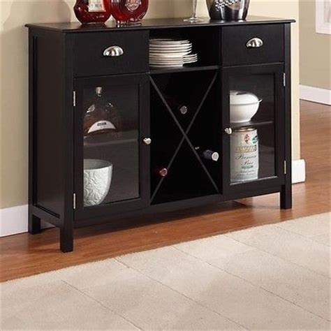 Dining Room Buffet With Wine Rack by Buffet Server Wine Rack Sideboard Cabinet Furniture Dining