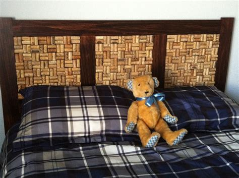 cork board headboard 17 best images about bed ideas on pinterest bedroom