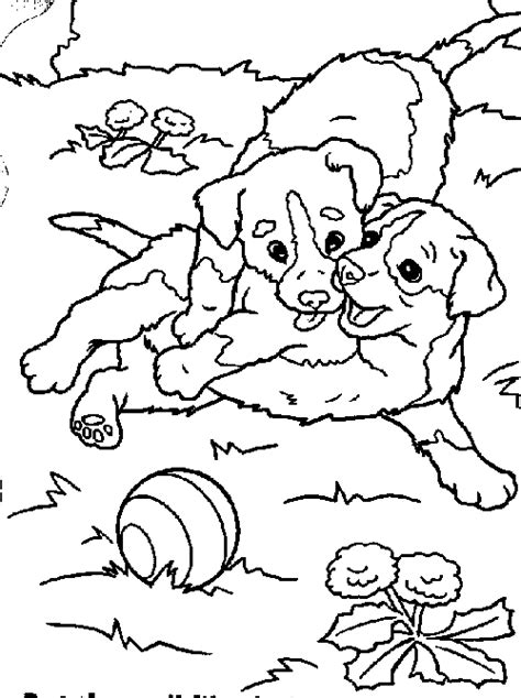 two dogs coloring page two dogs coloring pages for kids