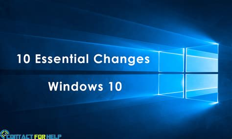 supporting windows 10 books 10 essential changes you must to use windows 10