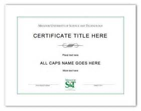 microsoft word certificate of completion template microsoft word certificate templates free