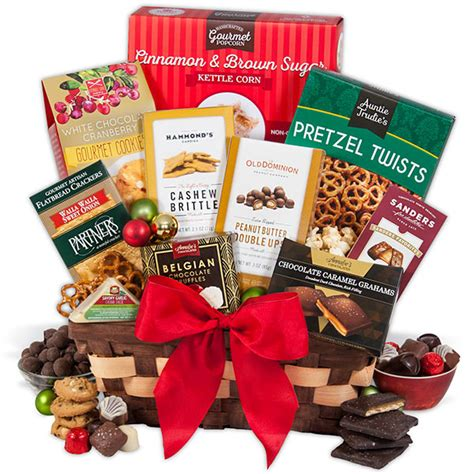 food basket for christmas by gourmetgiftbaskets com