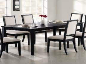 Black Dining Room Table Set Black Dining Room Table