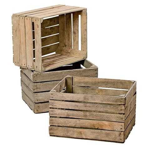 Obstkisten Aus Holz by Obstkiste 50 X 40 X 30 Cm Holz Bauhaus