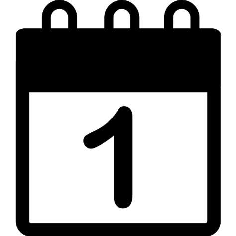 Fecha Calendario Calendario Con La Fecha N 250 Mero 1 Iconos Gratis De