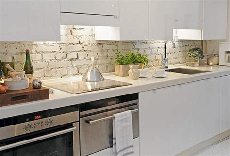 white brick backsplash brick backsplashes rustic and of charm
