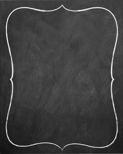 Chalkboard Invitation Templates Blank Blank Chalkboard Invitation Template