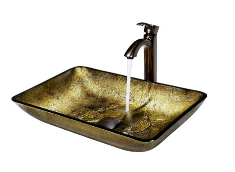 vigo glass vessel sinks vigo vessel sinks and faucets