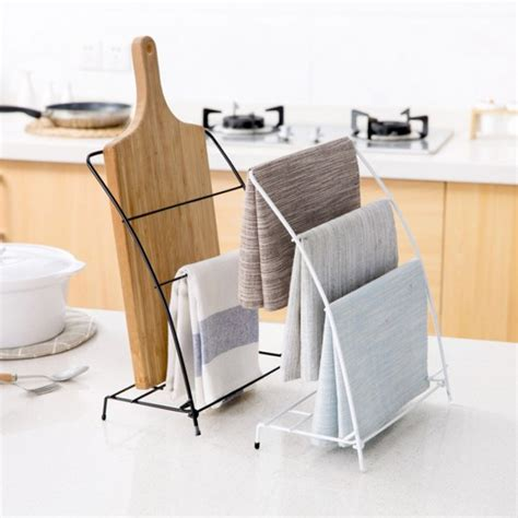bathroom hand towel stand mylifeunit free standing kitchen towel rack fingertip