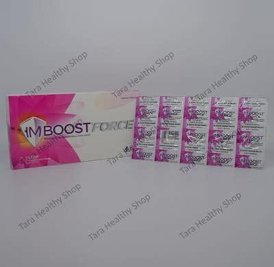 Suplemen Imboost imboost 30 kaplet salut selaput meningkatkan daya tahan tubuh tara healthy shop