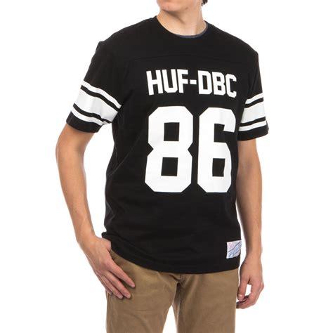 Jersey Shirts Huf Wrecking Crew Football Jersey Shirt Black
