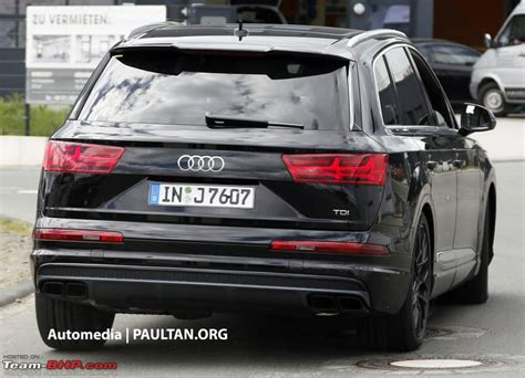 Audi Q7 Rs by 2015 Audi Q7 To Get An Rs Variant Team Bhp