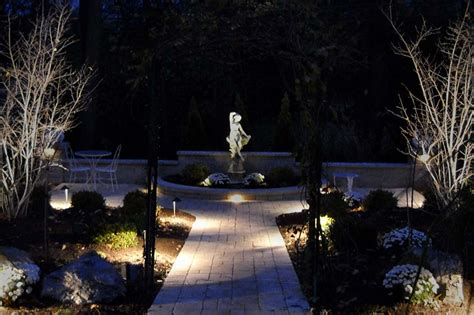 landscape lighting installation safety security led landscape lighting installation