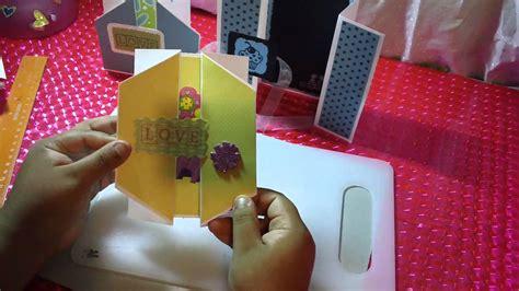 open scrapbook facil y original youtube newhairstylesformen2014com 3 tarjetas pop open scrapbook original y facil youtube