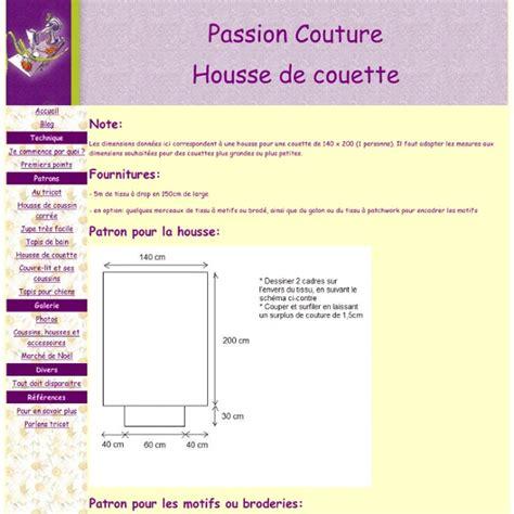 Dimension Des Couettes by Tuto Pour Housse De Couette Pearltrees