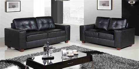 small living room ideas with black leather sofa centerfieldbar