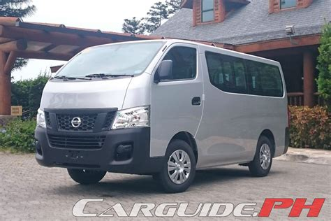 urvan nissan 2015 first drive 2015 nissan nv350 urvan philippine car news