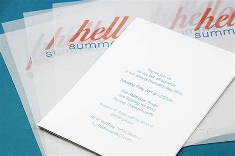 printing photos vellum paper make your own summer invitations using vellum paper lci