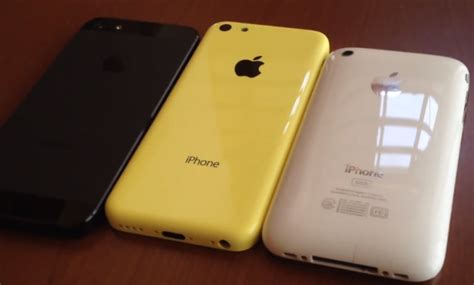 Housing Iphone 5c back housing of the rumored yellow iphone 5c makes