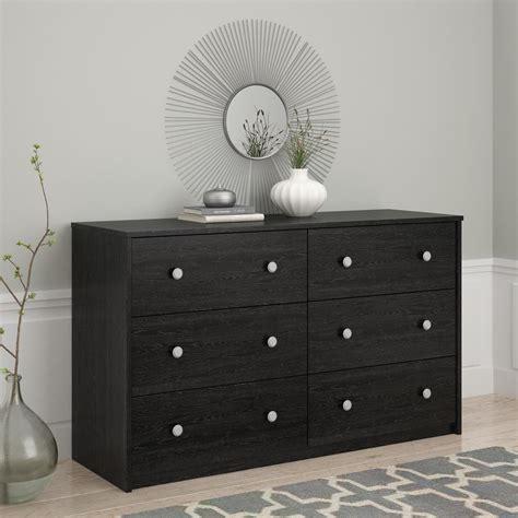 Essential Home Dresser by Essential Home Belmont 6 Drawer Dresser Black