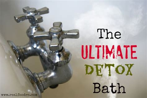 Heavy Metal Detox Epsom Salt Bath by The Ultimate Detox Bath This One Really Makes You Sweat