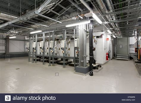 plant room plant room in the basement stock photo royalty free image
