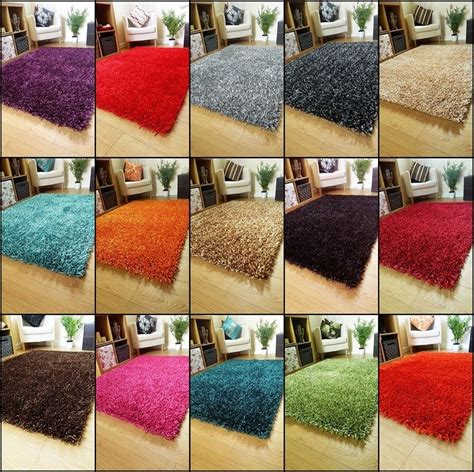 Shiny Shaggy Rugs by Large Small Sparkle Rugs Spaghetti Runners Thick Shiny Shaggy Lounge Shag Rug Ebay
