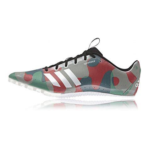 athletic running shoes spikes adidas sprintstar mens running track field