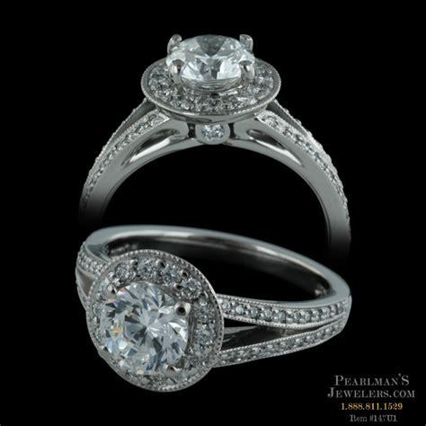 jewelry halo split shank ring