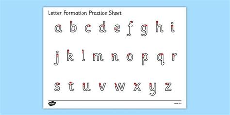 printable alphabet letters twinkl alphabets 187 small alphabets writing practice sheets free