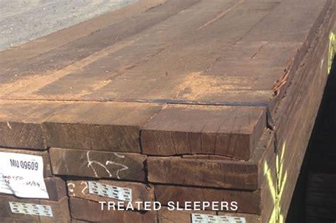 Ecowood Sleepers by Treated Sleepers