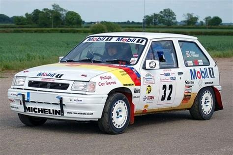 Vauxhall Rally Vauxhall Opel Corsa Rally Car My Partner Won A