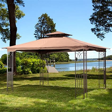 10 X 12 Patio Gazebo 10 X 12 Regency Ii Patio Gazebo With Mosquito Netting Gazebos Patio And Furniture