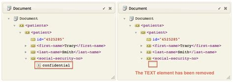 xml pattern space tutorial how to set an xml node to a space character