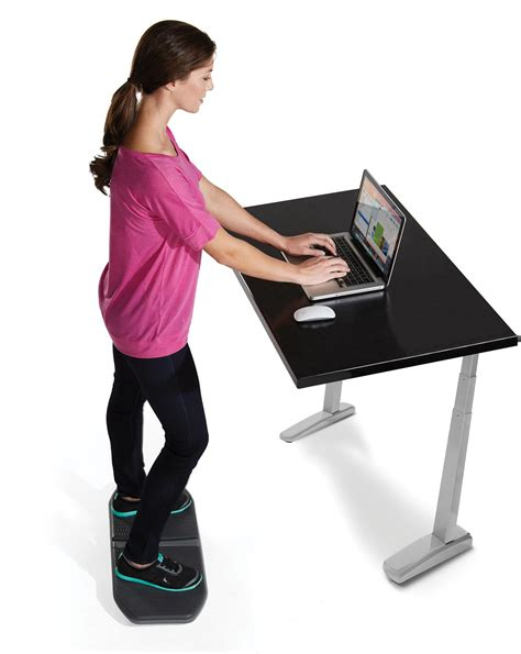 wobble board standing desk amazon com gaiam evolve balance board for standing desk