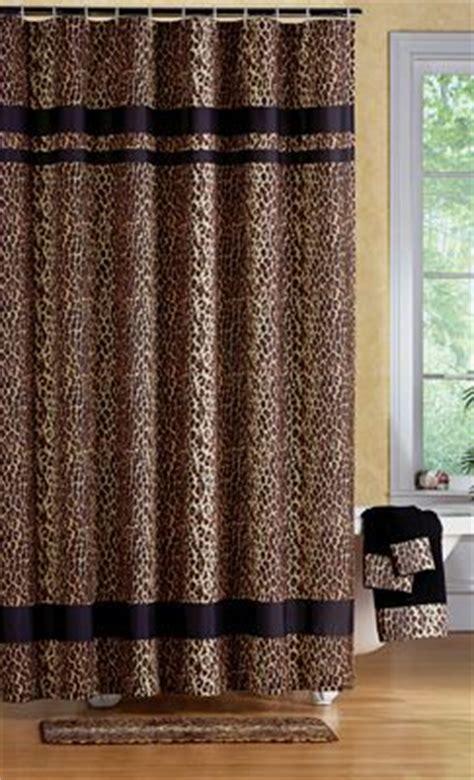 cheetah shower curtains leopard print bathroom shower curtain beautiful bathroom