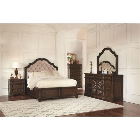 Padded Headboard With Storage by Ilana California King Storage Bed With Upholstered