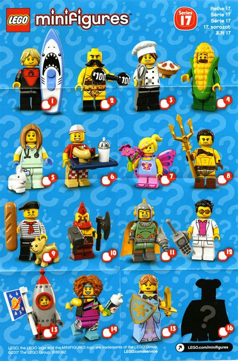 Lego Minifigure Series 17 Connoiseur series 17 cmf box distribution brickset lego set guide