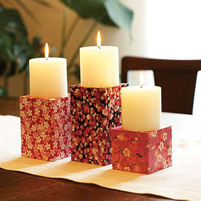 How To Make A Paper Candle Holder - craft paper candle holder pictures photos and images for