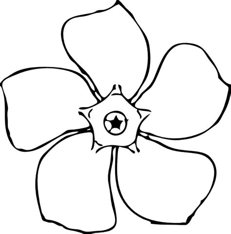 drawing templates for flower drawing templates clipart best