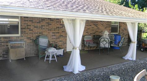 patio curtain ideas hometalk 18 curtain hanging tips and tricks