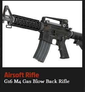 Airsoft Gun G16 Home Kci Electronics And Hobbies