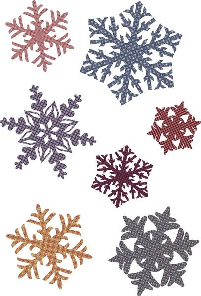pattern snowflake ai snowflake pattern style vector free vector in adobe