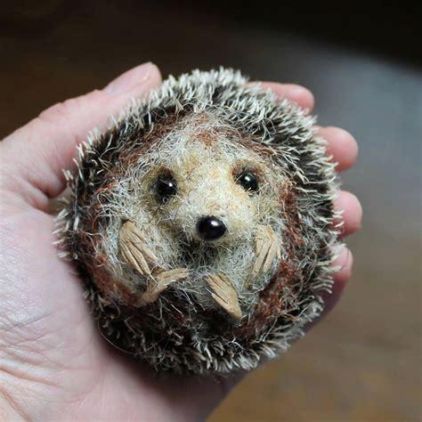 felt pattern hedgehog hedgehog pdf sewing pattern needle felting tutorial