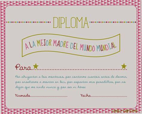 diplomas de madre la cartucheria imprimibles gratis dia de la madre