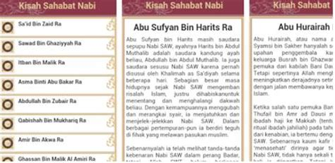 35 Kisah Terbaik Rasulullah Sahabat 5 android islami terbaik yang bagus buat anak