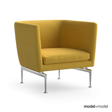 Sofa And Armchair by Vitra Suita Sofa And Armchair 3d Model Max Obj Fbx